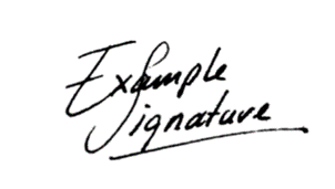 Image Only Signature Sample