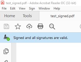 Invisible Signature Type
